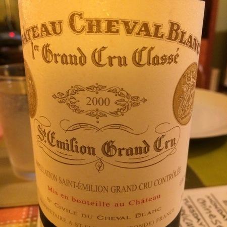 Château Cheval Blanc St. Émilion Red Bordeaux Blend 2000