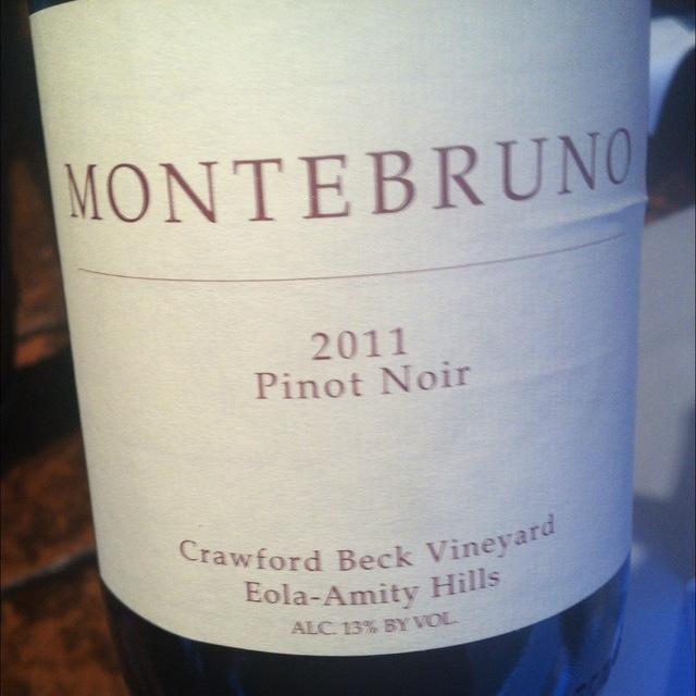 Crawford Beck Vineyard Pinot Noir 2011