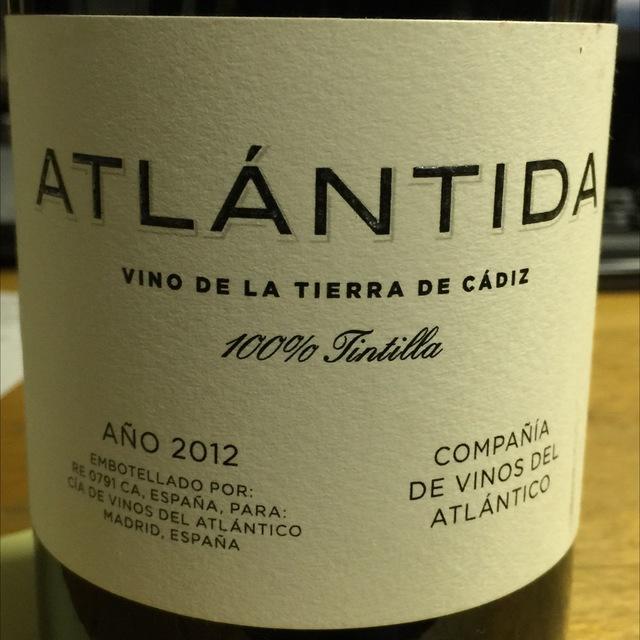 Atlántida Tintilla 2012