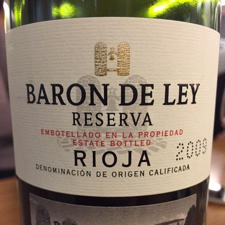 Baron de Ley Reserva Rioja Tempranillo 2011