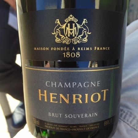 Henriot Brut Souverain Champagne Blend NV