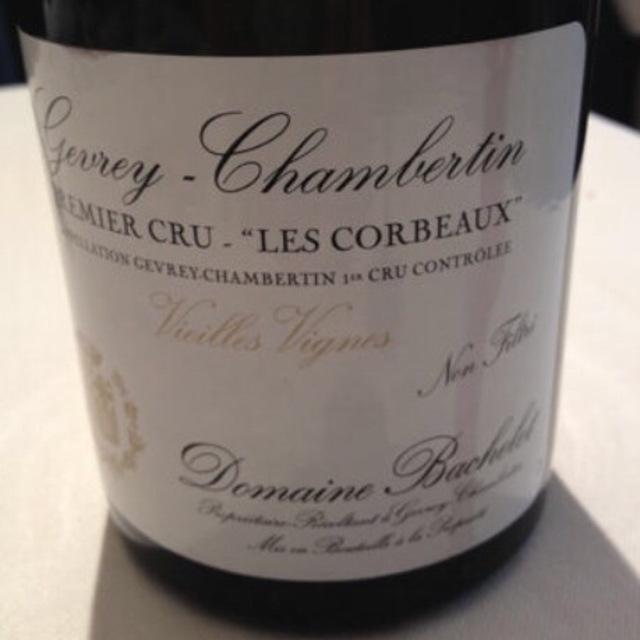Les Corbeaux Vielles Vignes Gevrey-Chambertin 1er Cru Pinot Noir 2006