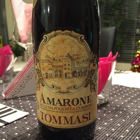 Tommasi Amarone della Valpolicella Classico Corvina Blend 2012 (375ml)
