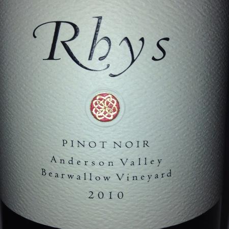 Rhys Vineyards Bearwallow Vineyard Pinot Noir 2010