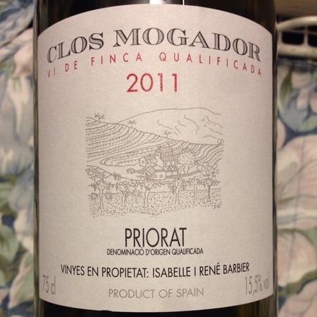 Clos Mogador Priorat Red Blend 2011