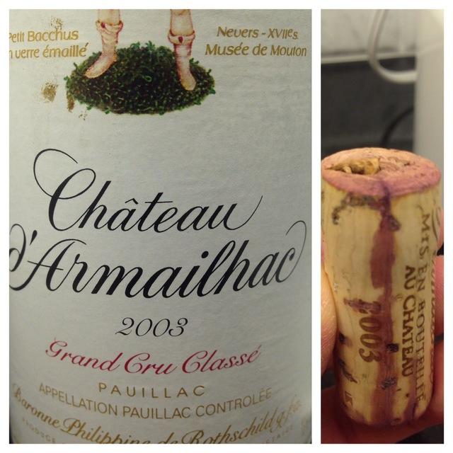 Pauillac Red Bordeaux Blend 2003