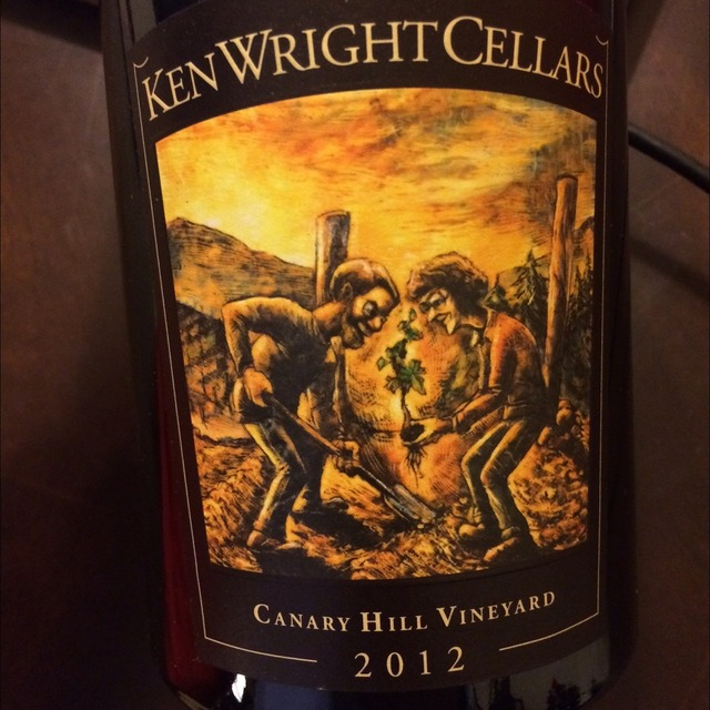 Canary Hill Vineyard Pinot Noir 2014