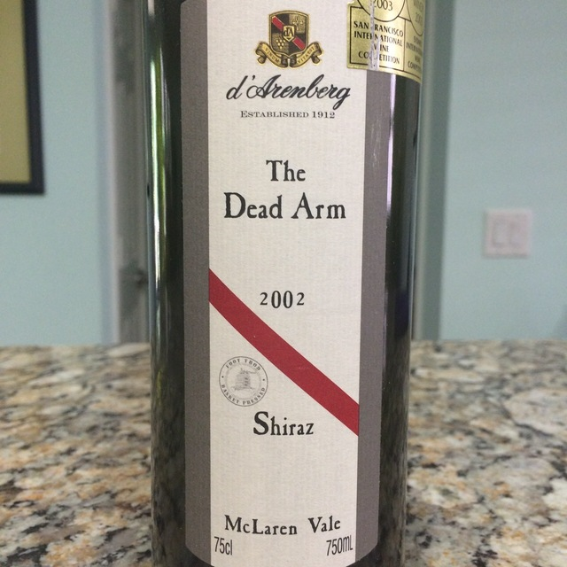 The Dead Arm McLaren Vale Shiraz 2002