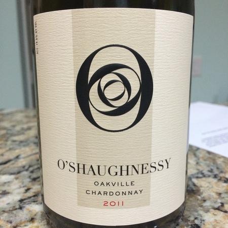 O'Shaughnessy Oakville Chardonnay 2011