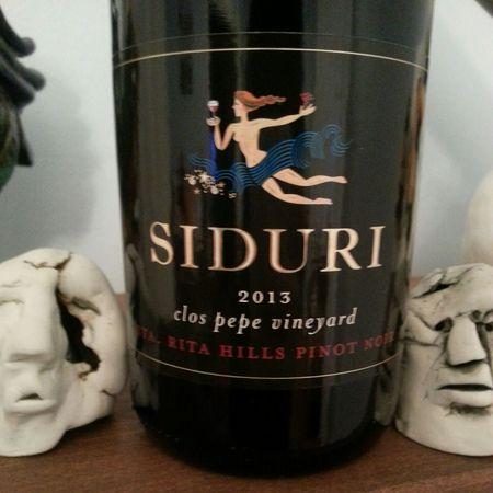 Siduri Clos Pepe Vineyard Pinot Noir 2013
