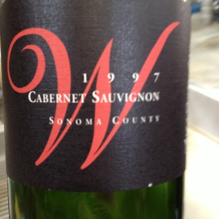 Fisher Vineyards Wedding Vineyard Cabernet Sauvignon 1997