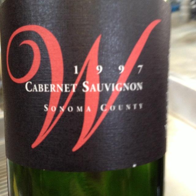 Wedding Vineyard Cabernet Sauvignon 1997