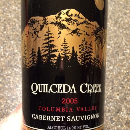 Quilceda Creek Columbia Valley Cabernet Sauvignon 2014