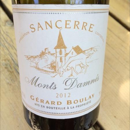 Gérard Boulay Monts Damnés Sancerre Sauvignon Blanc 2015 (1500ml)