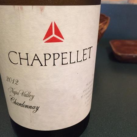 Chappellet Napa Valley Chardonnay 2014
