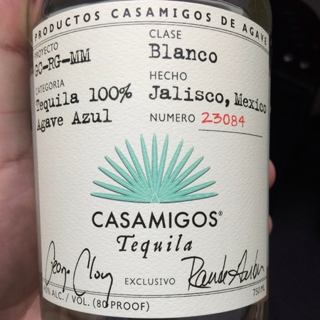Casamigos  Blanco Tequila  NV