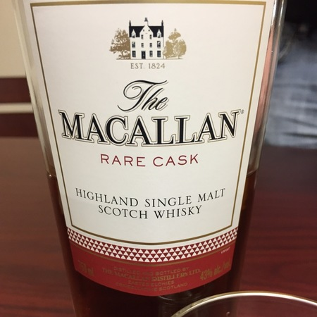 Macallan Distillery Rare Cask Highland Single Malt Scotch Whisky NV