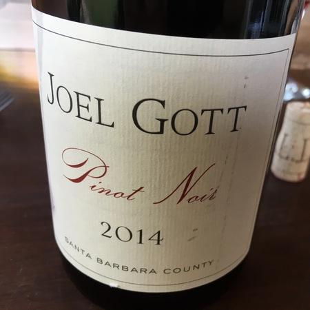 Joel Gott Wines Santa Barbara County Pinot Noir 2015