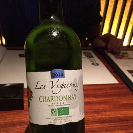 Vignerons de la Vicomte Les Vigneaux Vin de Pays d'Oc Chardonnay 2015