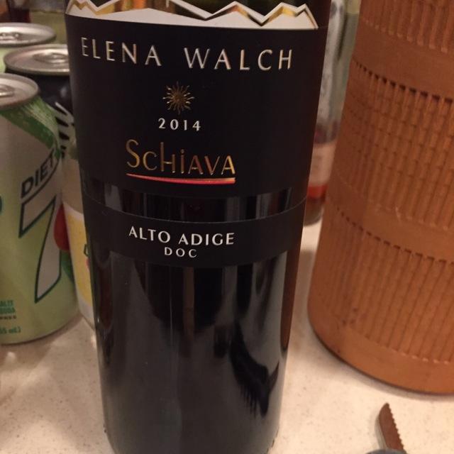 Alto Adige Schiava 2014