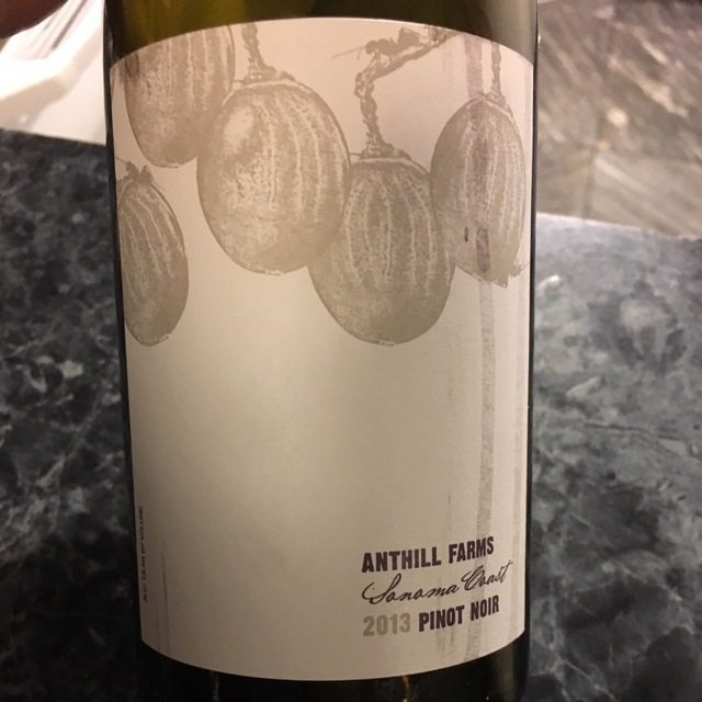 Anderson Valley Pinot Noir 2013
