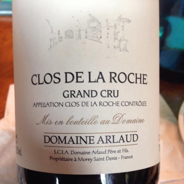 Clos de la Roche Grand Cru Pinot Noir 1998