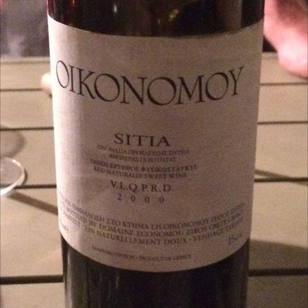 Domaine Economou Sitia V.P.Q.R.D. Red Blend 1998