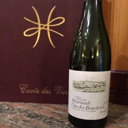 Domaine Roulot Clos des Bouchères Monopole Meursault 1er Cru Chardonnay 2014