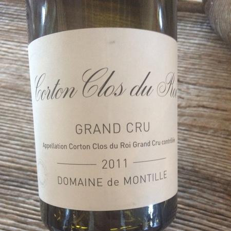 Domaine de Montille Clos du Roi Corton Grand Cru Pinot Noir 2011