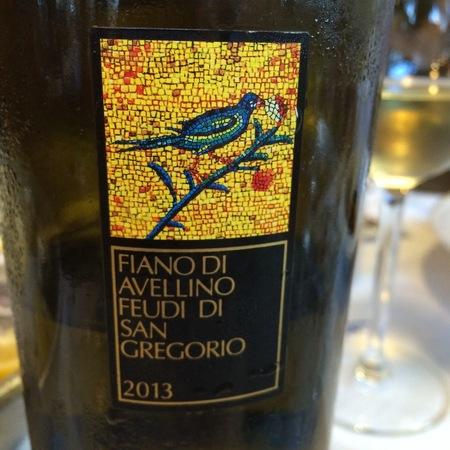 Feudi di San Gregorio Fiano di Avellino 2013