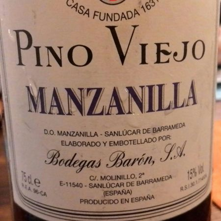 Bodegas Barón Pino Viejo Manzanilla Palomino Fino NV