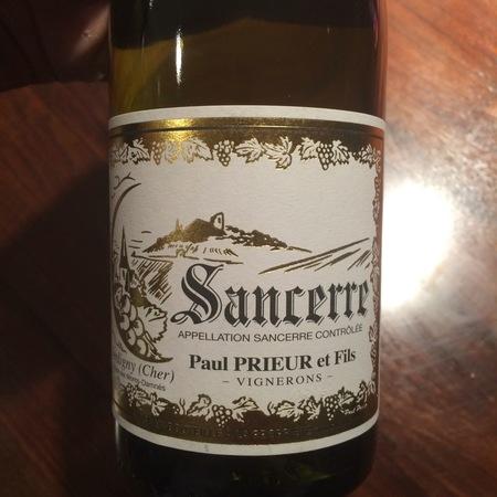 Paul Prieur & Fils Sancerre Sauvignon Blanc 2016