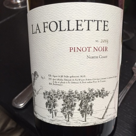 La Follette North Coast Pinot Noir 2014
