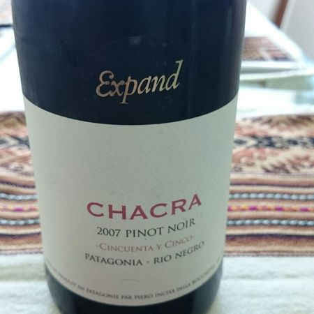 Bodega Chacra Chacra Expand Pinot Noir 2016
