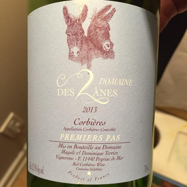 Premiers Pas Corbières Carignane Blend 2013
