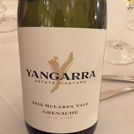 Yangarra Estate McLaren Vale Old Vine Grenache 2013