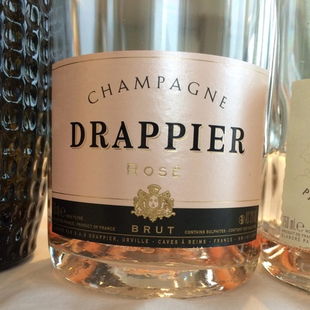 Drappier Brut Rosé Champagne Pinot Noir NV