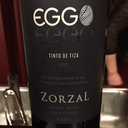 Zorzal Eggo Tinto de Tiza 2012