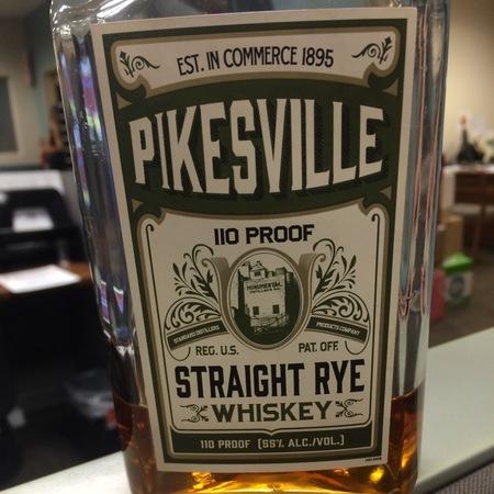 Pikesville Straight Rye Whiskey NV