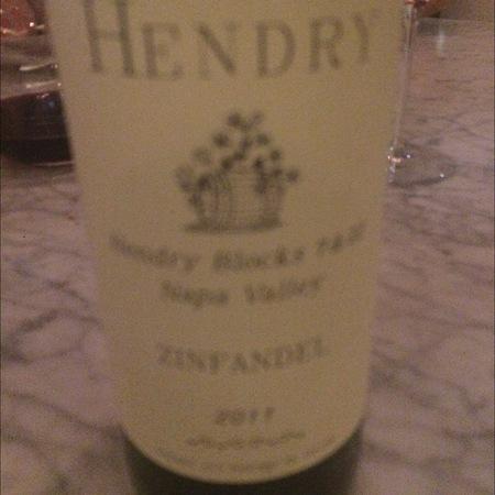 Hendry Blocks 7 & 22 Napa Valley Zinfandel 2013