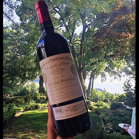 Domaine du Cheval Blanc St. Emilion Red Bordeaux Blend 2015 (1500ml)