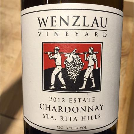 Wenzlau Vineyard Sta. Rita Hills Estate Chardonnay  2013