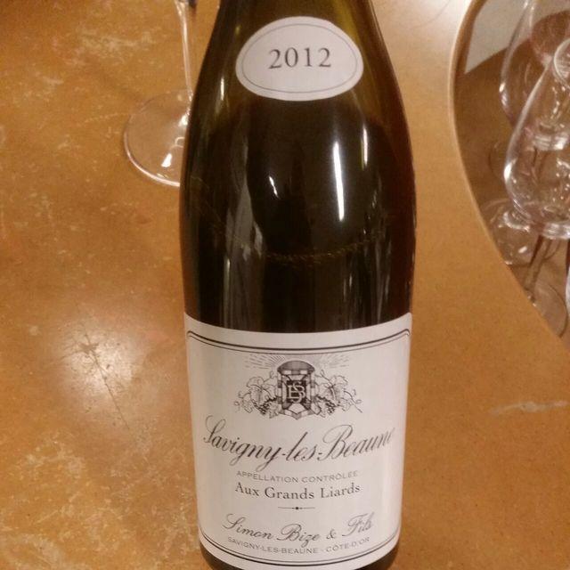 """Aux Grands Liards"" Savigny-lès-Beaune Pinot Noir 2012"
