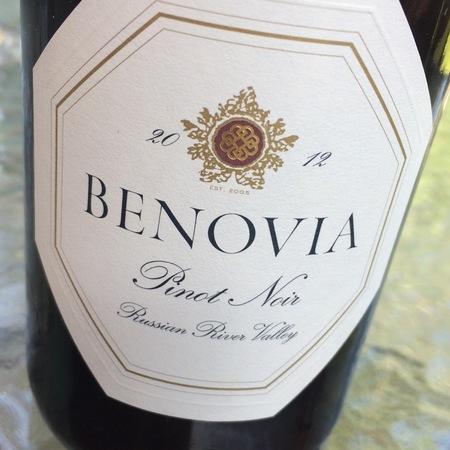 Benovia Russian River Valley Pinot Noir 2015