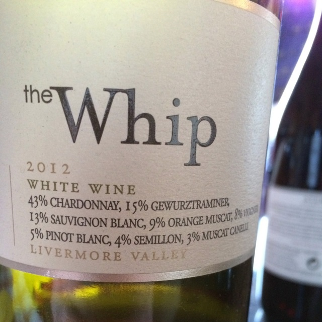 The Whip Livermore Valley White Blend