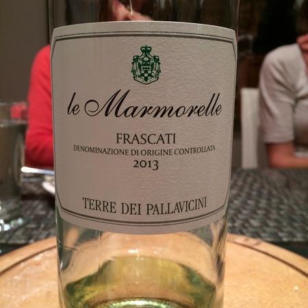 Principe Pallavicini Le Marmorelle Terre dei Pallavicini Frascati White Blend 2015