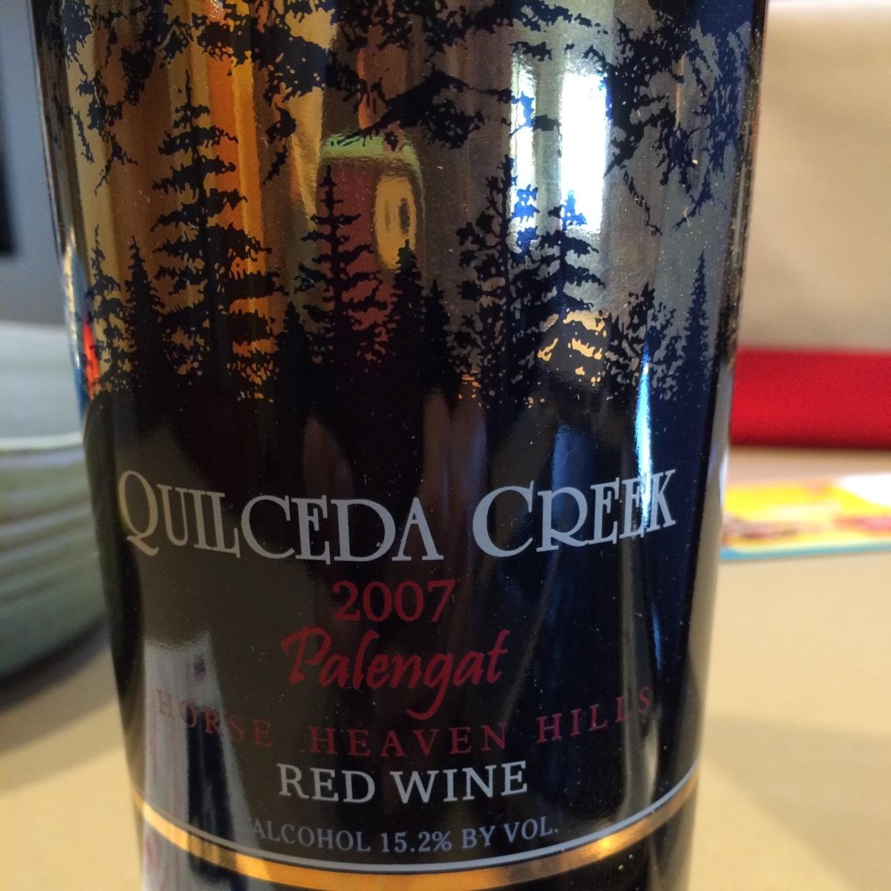 Quilceda Creek Palengat Vineyard Cabernet Sauvignon 2007 Cellaraiders