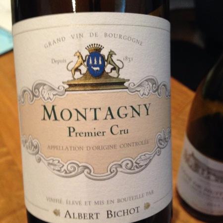 Maison Albert Bichot Montagny 1er Cru Chardonnay 2014