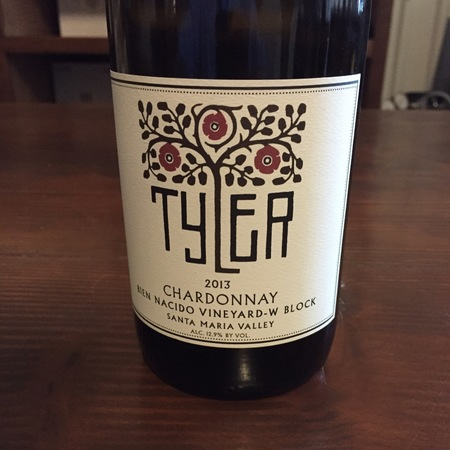 Tyler Bien Nacido Vineyard Chardonnay 2013