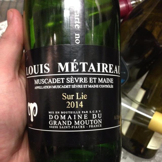 Grand Mouton Muscadet de Sèvre-et-Maine Melon de Bourgogne 2014